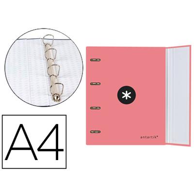 CLASSEUR ANTARTIK + FEUILLETS 5X5 CORAIL