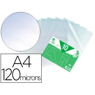 POCHETTE COIN 120 MICRONS INCOLORE PACK DE 10