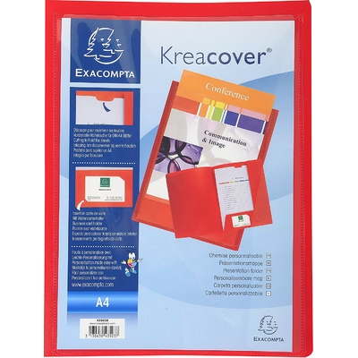KREACOVER CHEMISE PERSONNALISABLE ROUGE