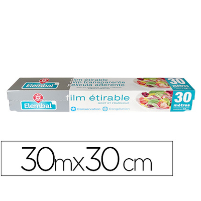FILM ALIMENTAIRE ÉTIRABLE 30M