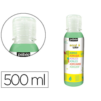 ACRYLCOLOR 500ml VERT FONCÉ