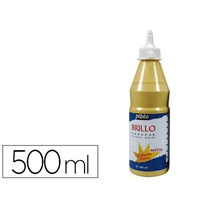 GOUACHE LIQUIDE BRILLO OR
