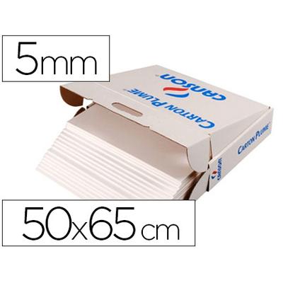 CARTON PLUME 500X660MM ÉPAISSEUR 5MM