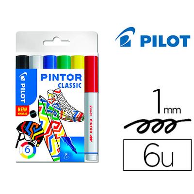 PINTOR POINTE FINE PACK DE 6 REGULAR MIX