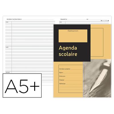 AGENDA SCOLAIRE DE L'ÉLÈVE