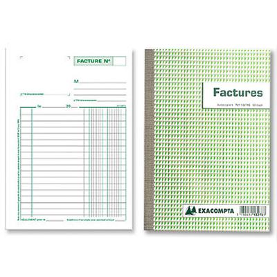FACTURES 50 DUPLIS A5