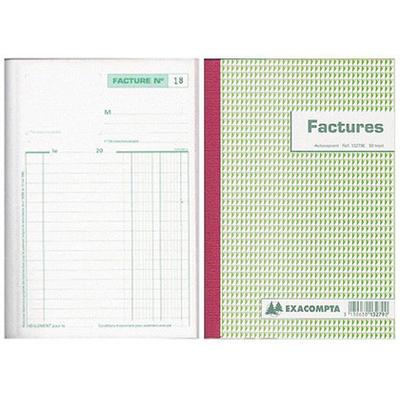 FACTURES 50 DUPLIS A4