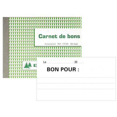 BON POUR 50 DUPLIS 10.5X13.5CM