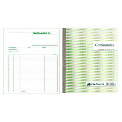 COMMANDES 50 TRIPLIS 21X18CM