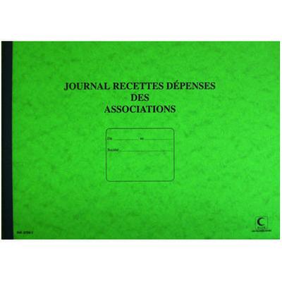 JOURNAL RECETTES/DÉPENSES DES ASSOCIATIONS
