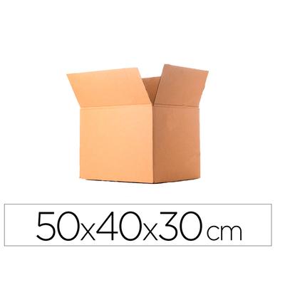 CAISSE AMÉRICAINE DOUBLE CANNELURE 50X40X30CM