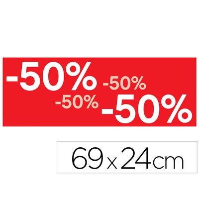 """BANNIÈRE PROMOTIONNELLE """"-50%"""""""