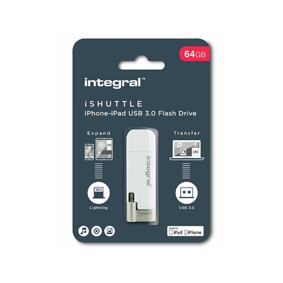 CLÉ USB ISHUTTLE 3.0 64GB