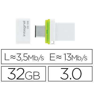 CLÉ USB FUSION DUAL 3.0 32GB