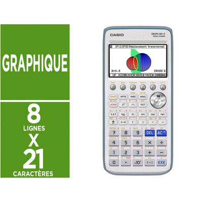 CALCULATRICE GRAPH 90+E - MENU PYTHON