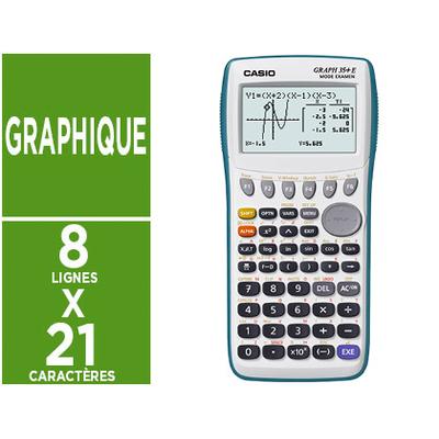 CALCULATRICE GRAPH 35+E II - MENU PYTHON