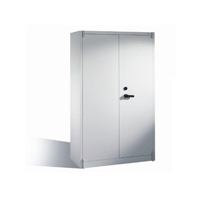 Armoire anti feu - 2 portes battantes - H1950xL1200xP500 mm - RAL 7021 - Gris anthracite