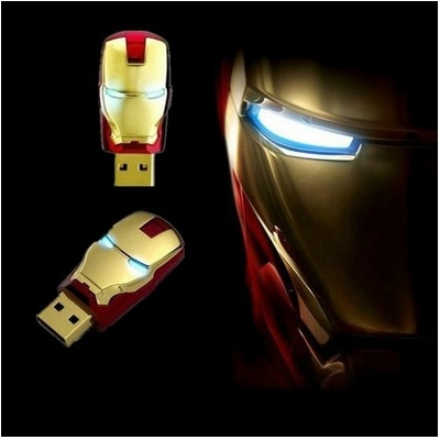 IRON MAN CLÉ USB 8Gb