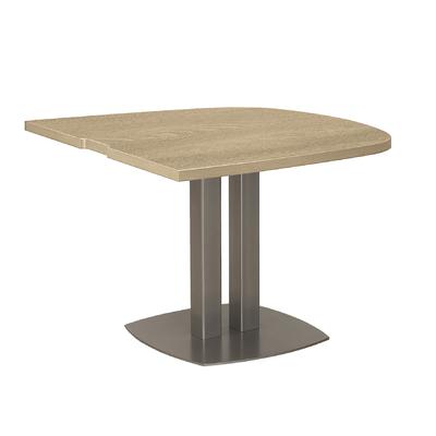 VERMONT CHÊNE TABLE ½ OVALE