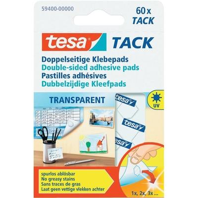 TESA TACK TRANSPARENT  BOITE DE 80 PASTILLES