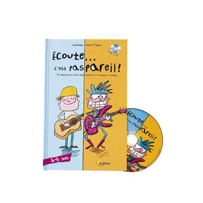 ECOUTE C'EST PAS PAREIL COFFRET MUSICAL 4-5 ANS