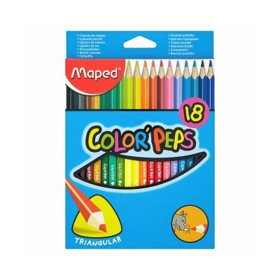 CRAYONS COLOR'PEPS PACK DE 18