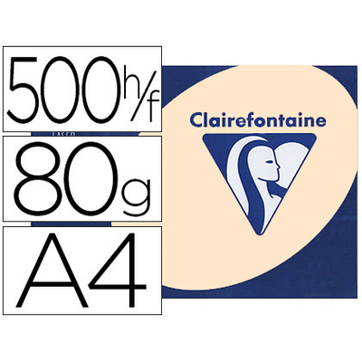 CLAIREFONTAINE TROPHÉE SAUMON A4 80G