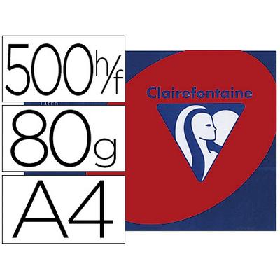 CLAIREFONTAINE TROPHÉE ROUGE GROSEILLE A4 80G
