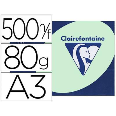 CLAIREFONTAINE TROPHÉE VERT PASTEL A3