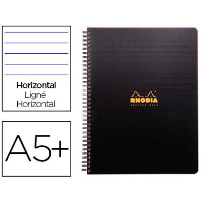 RHODIACTIVE NOTEBOOK A5+ LIGNÉ 6 TROUS