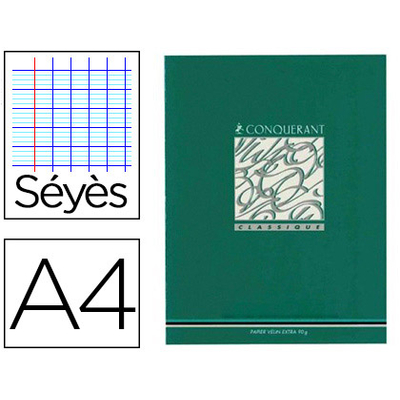 PIQUÉ CLASSIQUE 21X29.7CM 96 PAGES SÉYÈS