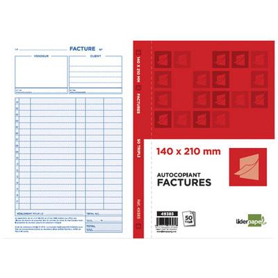 LIDERPAPEL MANIFOLD FACTURES 50 TRIPLIS 140x210mm
