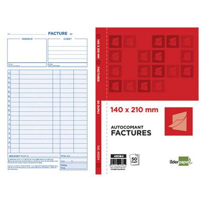 FACTURES 50 DUPLIS 14X21CM