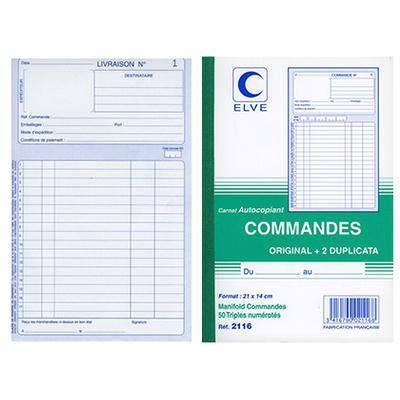 COMMANDES 1 A 50 21X14CM