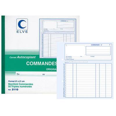 COMMANDES 50 TRIPLIS 21X21CM