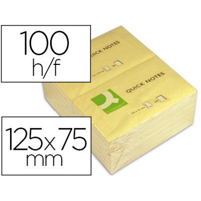 QUICK NOTES JAUNES 40x50mm