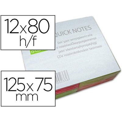 NÉON RAINBOW 12 BLOCS 75x125mm