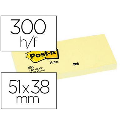 BLOC 653 38x51mm x3