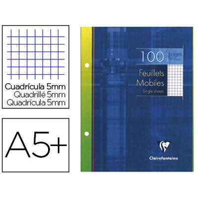 CLAIREFONTAINE A5+ PERFORÉS PACK DE 100 FEUILLETS