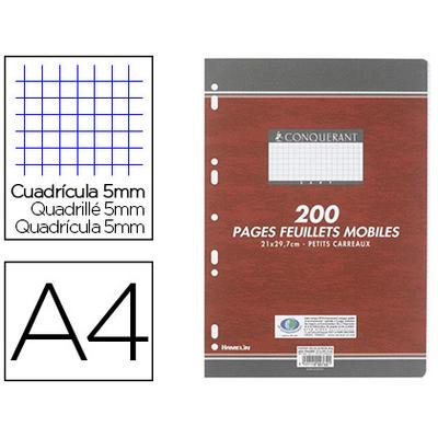 CONQUERANT A4 PERFORÉS PACK DE 200 FEUILLETS