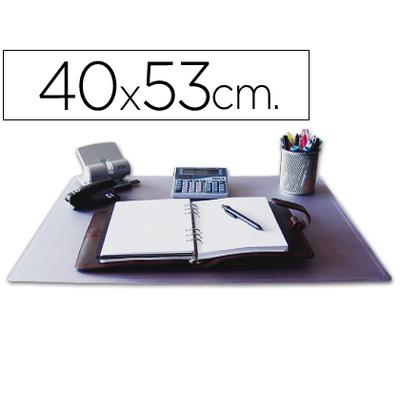 SOUS-MAINS PVC TRANSPARENT 40X53cm