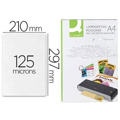 Q-CONNECT A4 MAT 125 Microns