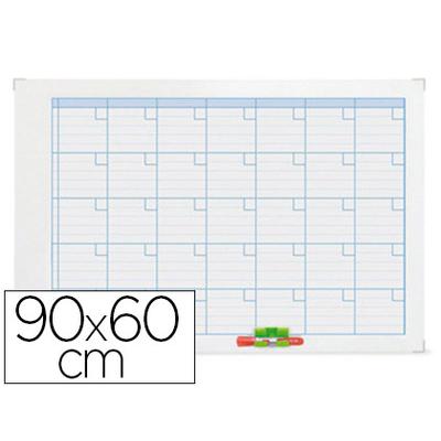 PLANNING MENSUEL MAGNÉTIQUE 90X60CM