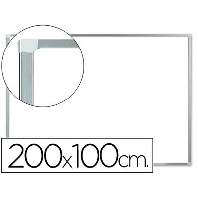 MAGNÉTIQUE LAQUÉ CADRE ALU 200x100CM