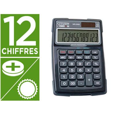 CITIZEN WR-3000 12 CHIFFRES