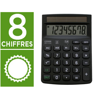 CITIZEN ECC-210 8 CHIFFRES