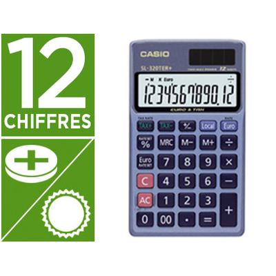 CASIO SL320TER + 12 CHIFFRES