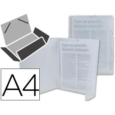 CHEMISE DOS FLEXIBLE A4 TRANSPARENT