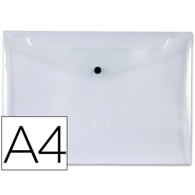 POCHETTE A4 INCOLORE TRANSPARENT