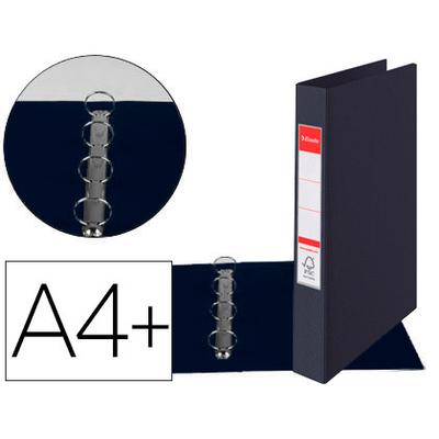 VIVIDA A4+ 4 ANNEAUX 25MM NOIR